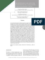 Calidad microbiológica del agua por contaminación difusa de la aplicación de estiércoles en maíz y pasto