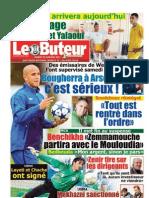 LE BUTEUR PDF du 25/01/2011