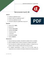 Laboratorio 4 - Electrónica II Ing Elmer Cruz