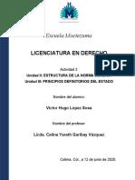 Actividad 3 -Estructura de norma jurídica - principios del estado de derecho 12-06-2020