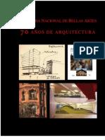 70 años de arquitectura. ANBA