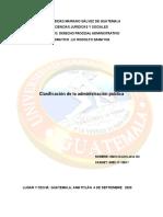 CLASIFICASION DE LA AMINISTRACION PUBLICA