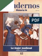 Cuadernos Historia 16 - 012a - La Mujer Medieval