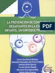 La prevencion de conductas desafiantes en la erscuela infantil