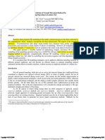 3D Finite Element Prediction of Ground Movement Induced by