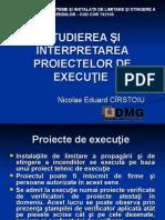 3-9 - STUDIEREA SI INTERPRETAREA PROIECTELOR DE EXECUTIE