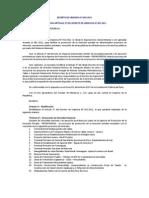 Decreto de Urgencia 002 - 2011