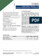 38-05537_CY7C1354CV25_CY7C1356CV25_9_MBIT_256K_X_36_512K_X_18_PIPELINED_SRAM_WITH_NOBL_ARCHITECTURE.pdf