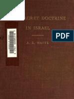 A.E_Waite_-_The_Secret_Doctrine_in_Israel