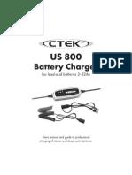 CTEK US800 Manual