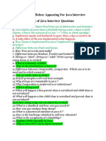 Quick Reference Before Appearing For Java Interview (1)