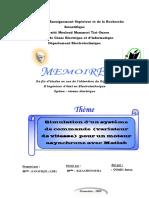 Simulation d'un système de commande  (variateur de vitesse)  pour un moteur.pdf
