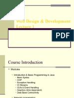 Web Design & Development - CS506  Power Point Slides Lecture 01