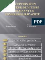 Conception d'un variateur de vitesse entrainant un compresseur.pptx