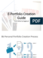 E-portfolio creation guide