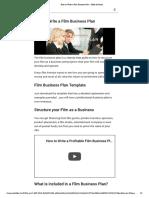 How to Write a Film Business Plan - Mode de lector.pdf