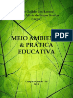 MEIO AMBIENTE AMBIENTE & PRÁTICA EDUCATIVA