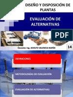 14 - Evaluación de alternativas