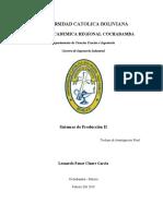 Sistemas de Produccion II