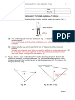 Cedar Booster (General Physics) 7 2019 Ans