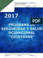 PROGRAMA DE SEGURIDAD Y SALUD OCUPACIONAL COINTRANS PDF FINAL