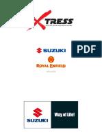 Catálogo Suzuki _ Royal Enfield XTRESS 2020