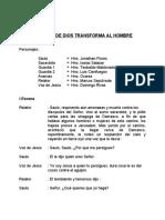 EL PODER DIOS TRANSFORMA AL HOMBRE