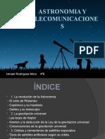 ASTRONOMIA Y TELECOMUNICACIONES