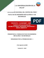 Proyecto V ACGEOMET 2020