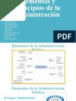 Elementos y principios de la administracion