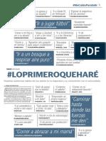 #LoPrimeroQueHaré