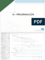 19 - Programación de Obra