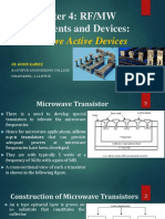 Microwave Engineering-Active Components