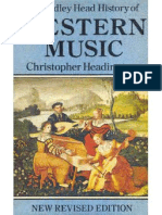 Christopher Headington - The Bodley Head History of Western Music