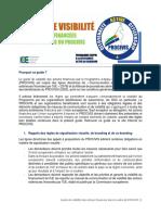 GUIDE DE VISIBILITE DES OSC BENEFICIAIRES DU PROCIVIS - 2020 PRINT