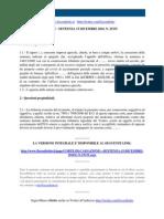 Fisco e Diritto - Corte Di Cassazione n 25335 2010