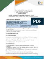 Guia de actividades y Rúbrica de evaluación - Fase 1 - Sistematización de los avances que ha tenido la economía solidaria