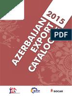 Azerbaijan Export Catalogue 2015