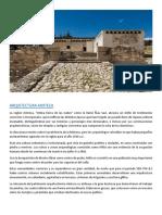 Arquitectura Mixteca ⭕