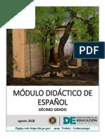 """MÃ""""DULO DE ESPAÃ'OL 10_FINAL.pdf"""