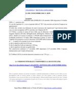 Fisco e Diritto - Corte Di Cassazione n 26259 2010