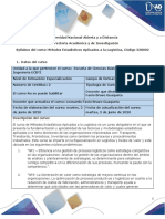 Syllabus de curso - Métodos estadísticos aplicados a la logística.pdf