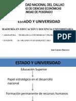 Estado y Universidad