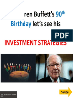 Warren Buffett's Investment Strategies