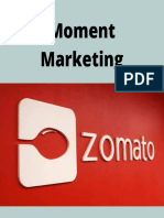 Zomato Moment Marketing