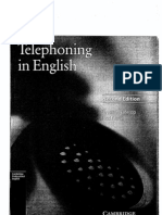 Telephoning In English Pdf
