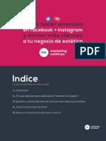 E-Book - Como hacer anuncios en Facebook + Instagram y atraer más clientes a tu negocio de estética