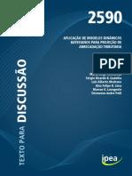 TD 2590 - Aplicação de Modelos Dinâmicos Bayesianos para Projeção de Arrecadação Tributária
