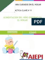 11 Y 12 ALIMENTACION DEL NIÑO ENFERMO.ppt
