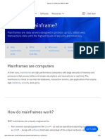 What is a mainframe _ IBM Z _ IBM